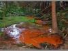 Pramen důlní vody